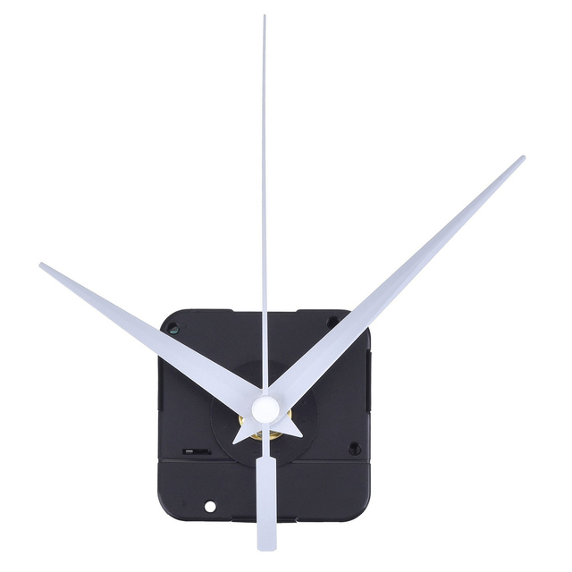 Hot Sale DIY High Torque Clock Mechanism, 3/ 10 Inch Maximum Dial Thickness, 4/ 5 Inch Total Shaft Length (White)