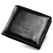 Oryginalne SKÓRZANY PORTFEL mężczyźni nowy marka torebki dla mężczyzn czarny brązowy Bifold portfel na zamek błyskawiczny portmonetka portfele z szkatułce tanie tanio Prawdziwej skóry Skóra bydlęca Biznes List Nie zamek Standardowe portfele Krótki 9 6cm 11 5cm about 0 1kg Genuine Leather