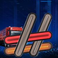 High Quality 2PCS 12V Truck Trailer Pick Up Side Direction Indicator Waterproof Indicators Light Truck Bus Clearance Side Marker