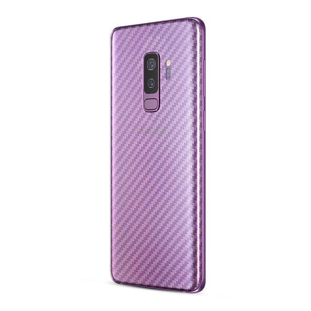2Pcs/lot 3D Carbon Fiber Protective Sticker For Samsung Galaxy S8 S8 Plus S9 S9 Plus Full Cover Screen Protector For Galaxy S9