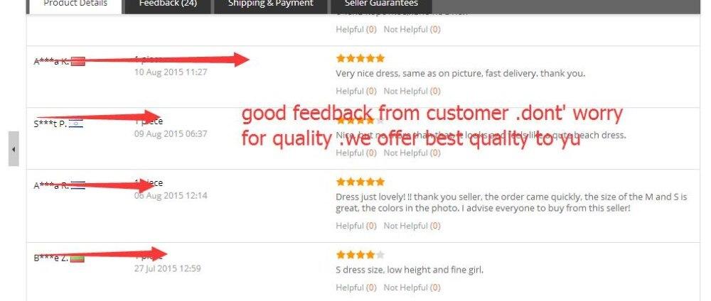 feedback dress