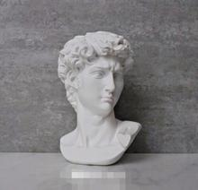 David Head Portraits Bust Mini Gypsum Statue Michelangelo Buonarroti Home Decoration Resin Art&Craft Sketch Practice цена в Москве и Питере