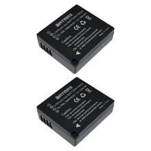2 Шт. BLE9 DMW-BLE9 DMWBLE9 DMW-BLE10 Аккумуляторная Батарея для Panasonic DMW-BLE9 DMW-BLG10 DMC-GF3 DMC-GF5 DMC-GF6 DMCGX7 LX100