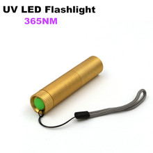 Professional 365Nm UV Led Flashlight Torch Ultraviolet Flash Light Ultra Violet Torch Lamp Black Light For Hunting Detection