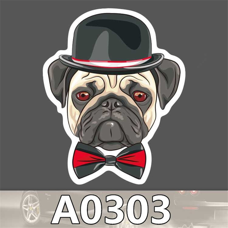 A0303 Spoof font b Anime b font Punk Cool Sticker for Car Laptop Suitcase Fridge Skateboard