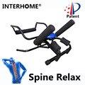 Rebaixamento de Descompressão Da Coluna Vertebral Spine Terapia de Tração Lombar Dispositivo de Alongamento Do Corpo Da Coluna para Aliviar Lumbago Cintura Baixa Dor Nas Costas