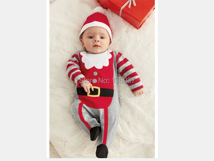 Love Baby Toddler Boy Girl With Hat Head Band Christmas Outfit ...
