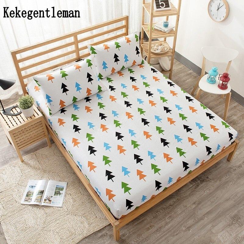 Animal Cotton Children Bed Sheet Bear Lion Cedar Forest Ed Twin Full Queen