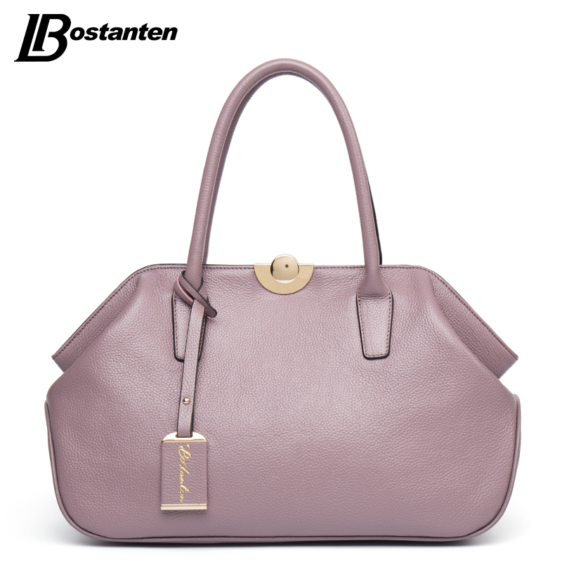 BOSTANTEN Designer Genuine Leather Bags Ladies Famous Brand Women Handbags High