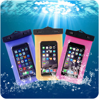 PVC Waterproof Diving Bag For Mobile Phones Underwater Pouch Case For iphone 4s5s66plus For samsung galaxy s3s4s5Note234