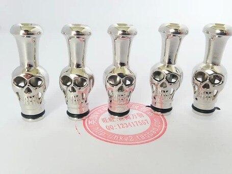 040440Smoke accessories font b Electronic b font font b cigarette b font holder metal skull hookah