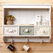 White Wall Cabinet Europe Style 52.5*12.5*40CM(China)