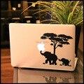 Отец и Сын слон Винил Ноутбука Наклейка для Apple Macbook Наклейка Pro Сетчатки воздуха 11 12 13 15 дюймов Mac HP Ноутбук Кожного Покрова