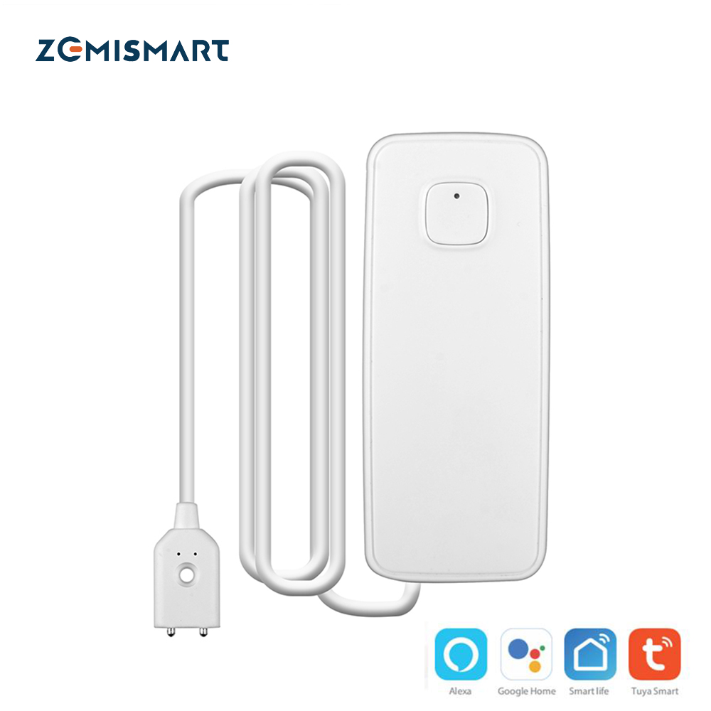 WIFI Leakage Sensor Smart Home Overflow Security Alarm Water Detector Tuya Smart Life APP Control Intelligent House