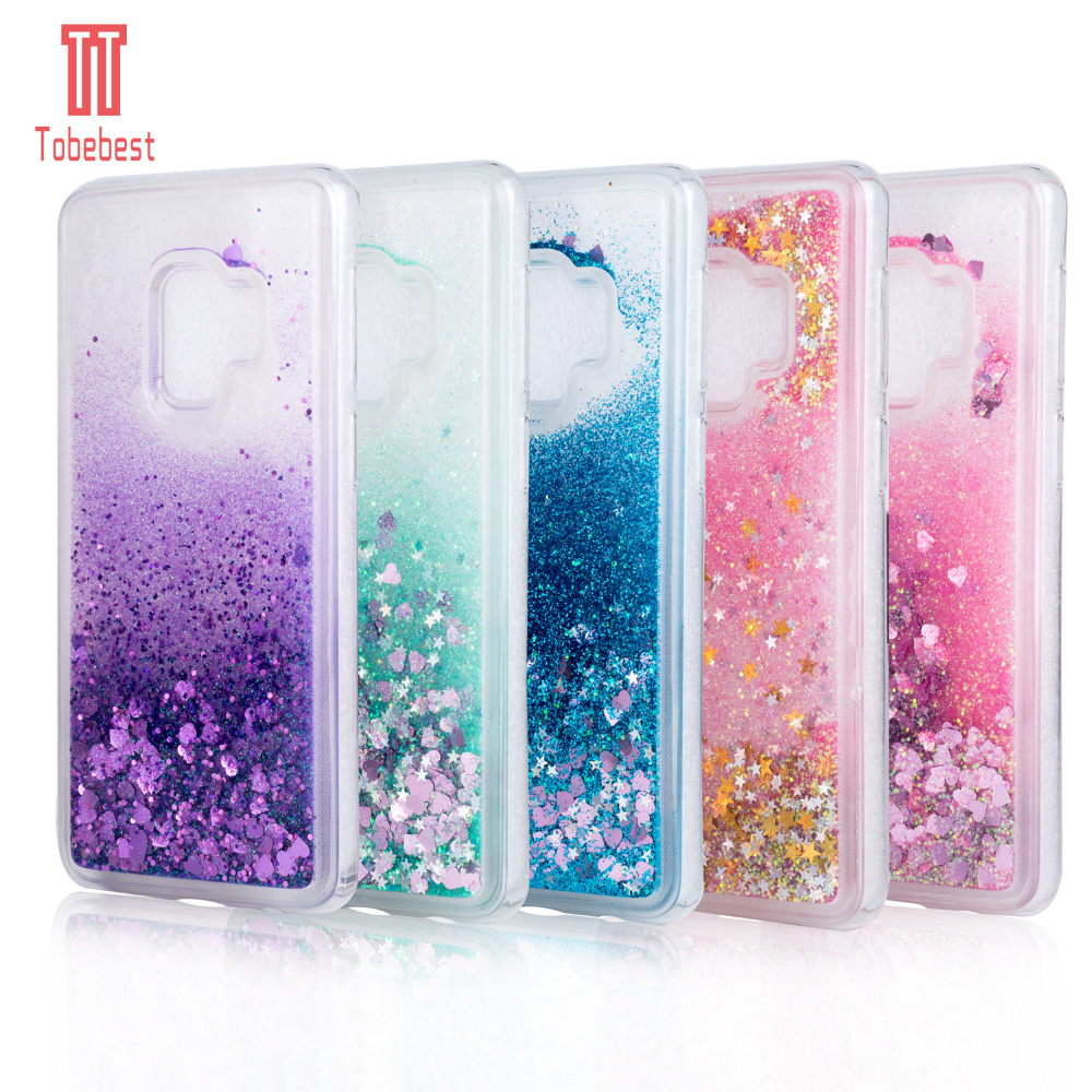 Dynamic For Samsung Galaxy S9 S9plus Case Dynamic Liquid Glitter Sand Quicksand Star Crystal Clear Case Cover Cellphones & Telecommunications