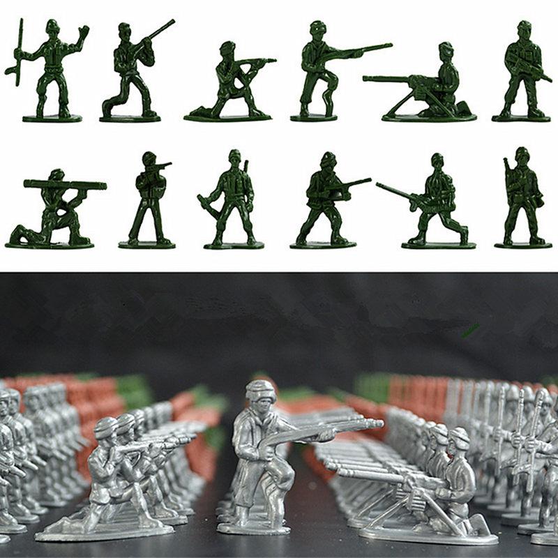 spielzeug plastik soldaten stellt militär kinder armee männer zahlen 12