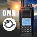 D900 Zastone UHF 400-480 МГц DMR Цифровое Радио 1000 Каналов Walkie Talkie двухстороннее радио Цифровой Walkie Talkie