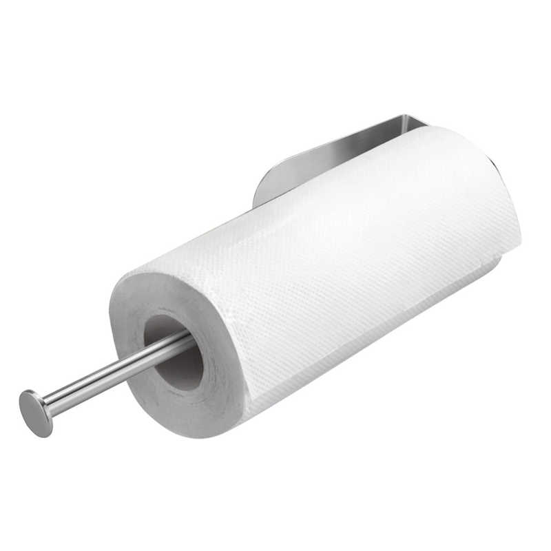 Image 4 - Creative High Quality Paper Towel  Storage Rack Vertical Diversified Holder Wall Mount Paper Holder Storage Rack-in Storage Holders & Racks from Home & Garden
