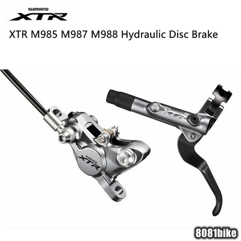 46fc7cf80e2 SHIMANO XTR M9000 M985 M987 M988 MTB Hydraulic Disc Brake Include ICE-TECH  PADS Left