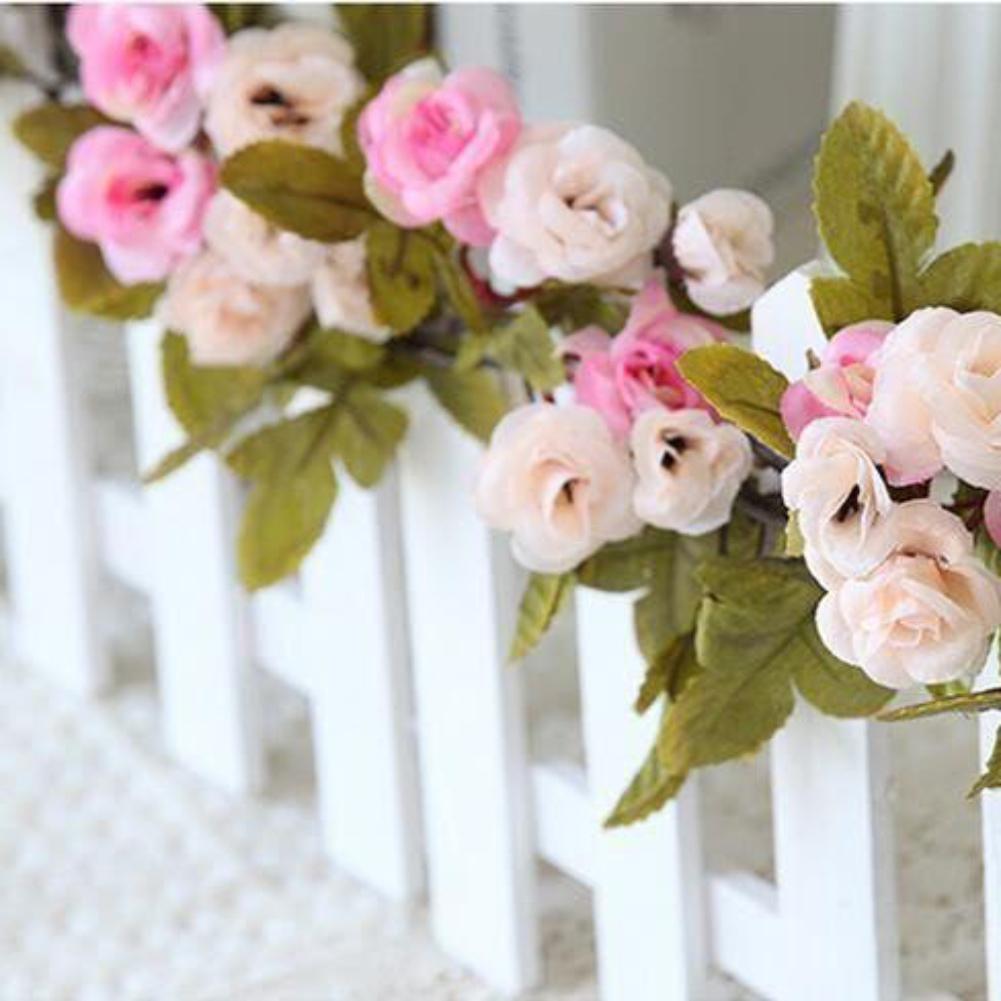 Exceptionnel Shabby Chic Rose Rose Guirlande Fleur Vintage Style Chaîne DE  SR06