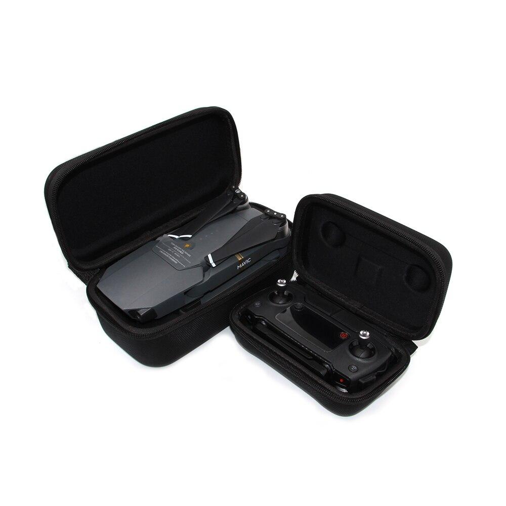 TELESIN Drone Carrying Case Remote Controller Transmitter Storage Box Travel Package Bag Hardcase Housing for DJI