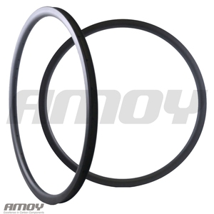 Image 1 - 29er MTB XC 30mm carbon rim clincher tubeless 35mm deep UD 3K 12K matte glossy 24H 28H 32H 29in mountain wheel