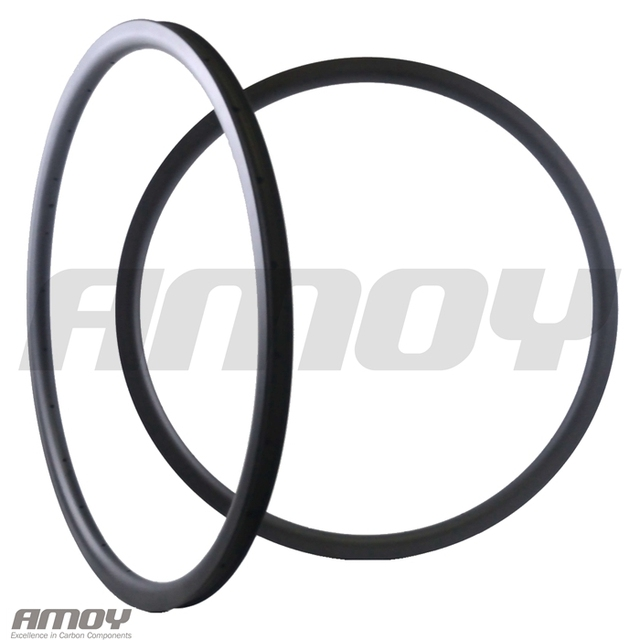 29er MTB XC 30mm carbon rim clincher tubeless 35mm deep UD 3K 12K matte glossy 24H 28H 32H 29in mountain wheel