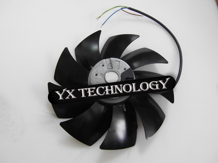 New and original axial fan A2D250-AI02-01 250 * 72mm 230 / 400V 0.23A  fan 250*72mm энергомаш дш 3118п