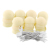 35 LED Romántica Bola de Algodón Creativo Luz de la Secuencia Blanco Marfil Fiesta Patio Árbol Decoración 4.5 M