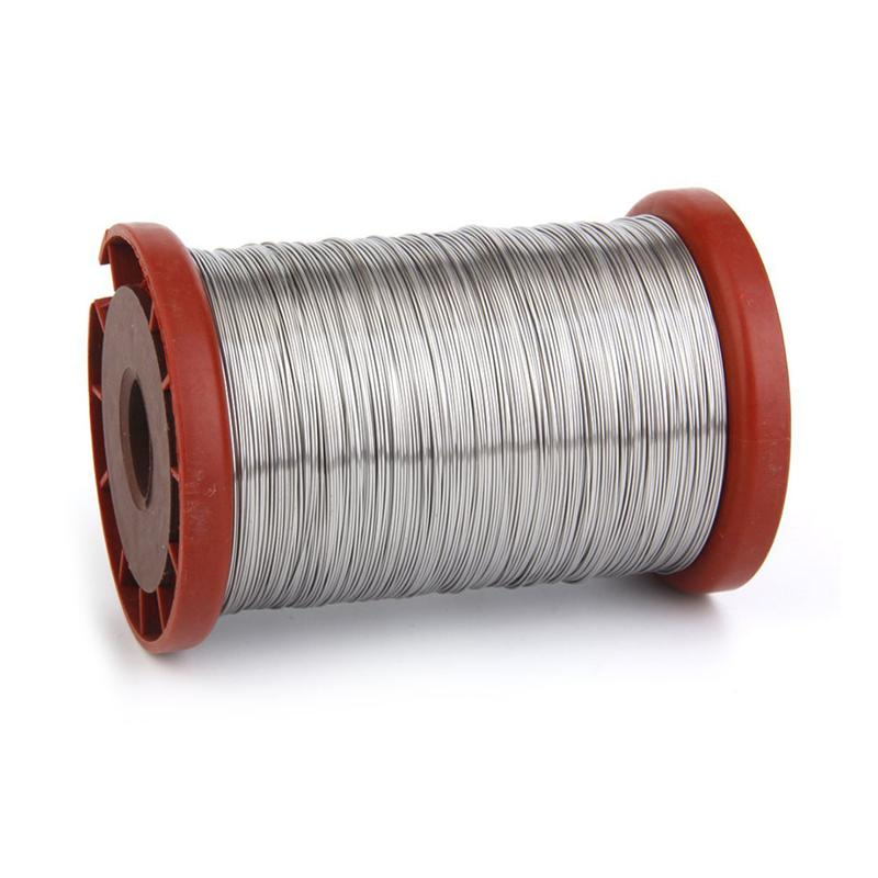 0.5mm 500G Stainless Steel Wire For Hive Frames Beekeeping Tool(Random Color)