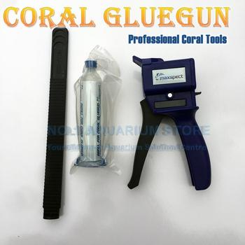 Maxspect Coral Gluegun Professional Coral Tools Long Reaching Apllicator for hand to Reach Places for Marine Aquariums