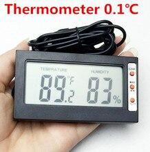 Датчик температуры И Влажности Крытый/Открытый Цифровой ЖК Термометр Гигрометр Измеритель Проводной Внешний Датчик Тестер
