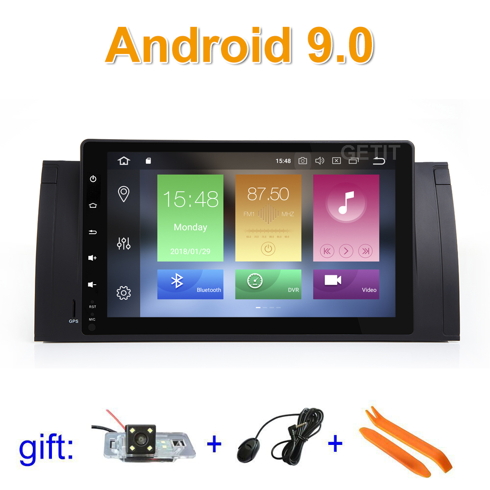 Octa core Android 9 Car DVD Stereo Multimedia for BMW E39 E53 M5 with WiFi BT