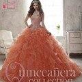 Quinceanera Vestidos Bling Bling Cristal vestidos de 15 años Vestido Doce Chot Barato