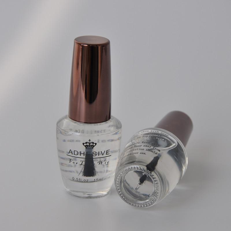 0.5FL .OZ (15ml) Yrkesmässigt Super Wig Adhesives For Blonda Prylar Högkvalitativ Hår Skönhetssalong Tillbehör Wig Lim