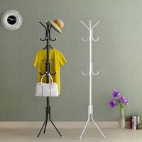 2017 Hot Sale A Simple Landing Coatrack Office Iron Hangers Bedroom Clothes Rack Bag Frame Vertical