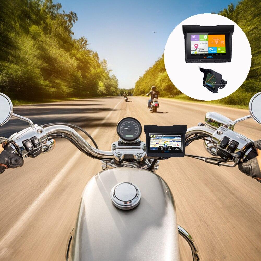 Fodsports 5.0 դյույմ Android Մոտոցիկլ - Ավտոմեքենաների էլեկտրոնիկա - Լուսանկար 5