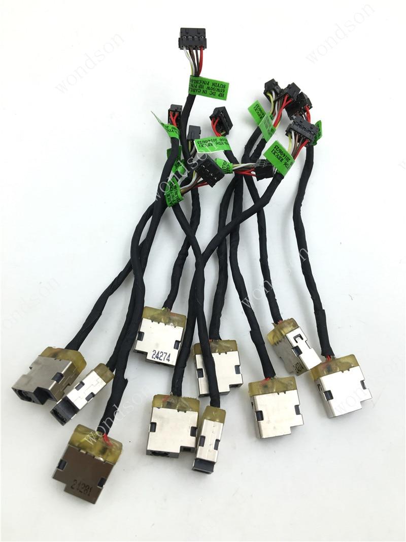 Original  For HP ENVY14 ENVY 15 ENVY 17 Pavilion 11-E - DC Power Jack  Cable 717371-FD6   W/ 1 Year Warranty