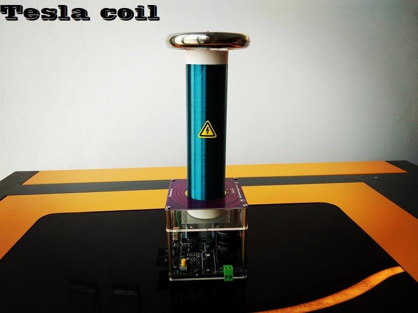 Tesla Coil Desktop Level Integrated Solid State Music