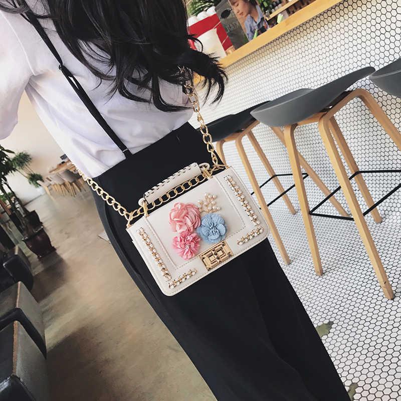 Kavard Mini Bead Tas Pantai Tas Tangan Wanita Merek Terkenal Mewah Tas Wanita Tas Desainer Tas Selempang untuk Wanita 2017 Sac utama