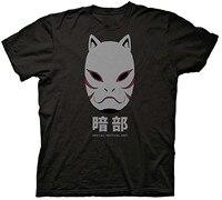 Gildan Naruto Shippuden Anbu Black Ops Mask Adult T-Shirt