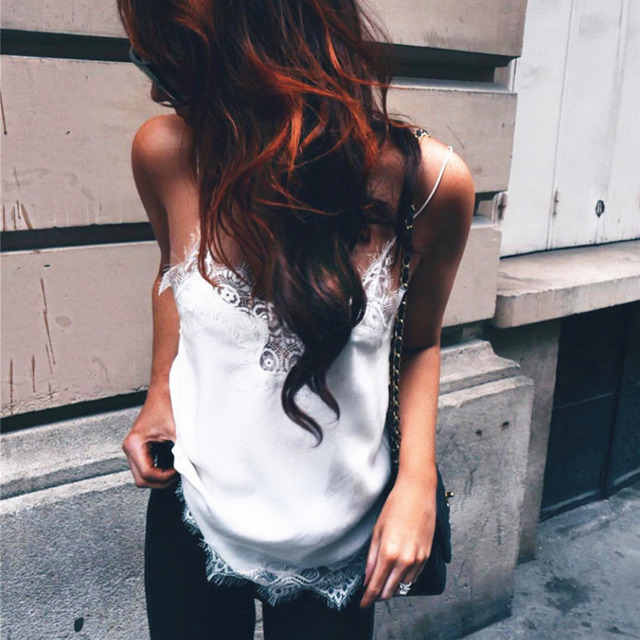 Chic Lace Tank Top