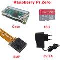 Raspberry Pi Zero Kit Acrylic Case + 16 GB Class 10 SD Card + Raspberry Pi Zero Camera + 5V 2A Power Adapter for RPI Zero