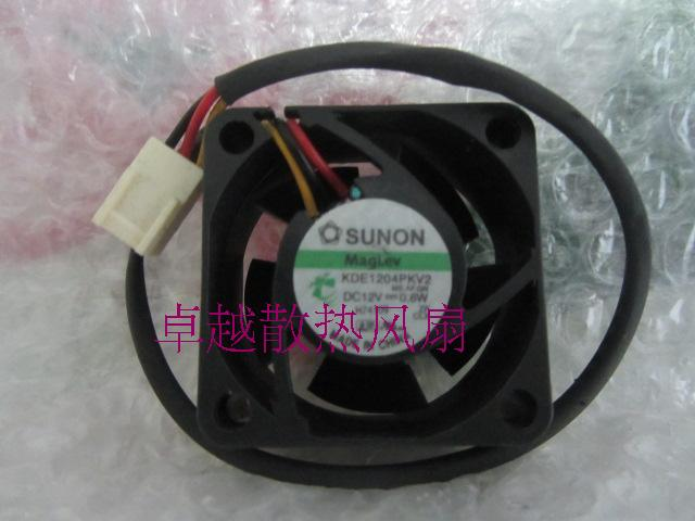 Free Shipping Wholesale SUNON Maglev <font><b>fan</b></font> KDE1204PKV2 4cm <font><b>40mm</b></font> 4020 12V 0.6W silent <font><b>quiet</b></font> server inverter cooling <font><b>fan</b></font> image
