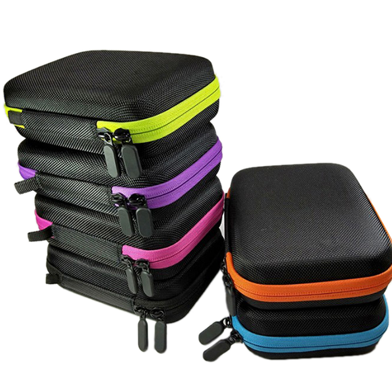 5ML Holder Bag Makeup Bag Cosmetic Bags 10 Roller Bottles Essential Oil Carry Case