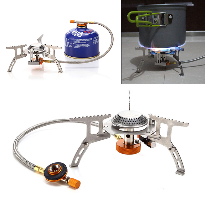 Portable Split Type Gas Stove Picnic Furnace Outdoor Camping Cooking FP8