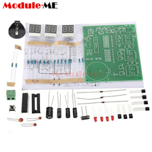 9 -12V 6 Digital AT89C2051 LED Electronic Clock Parts Compon