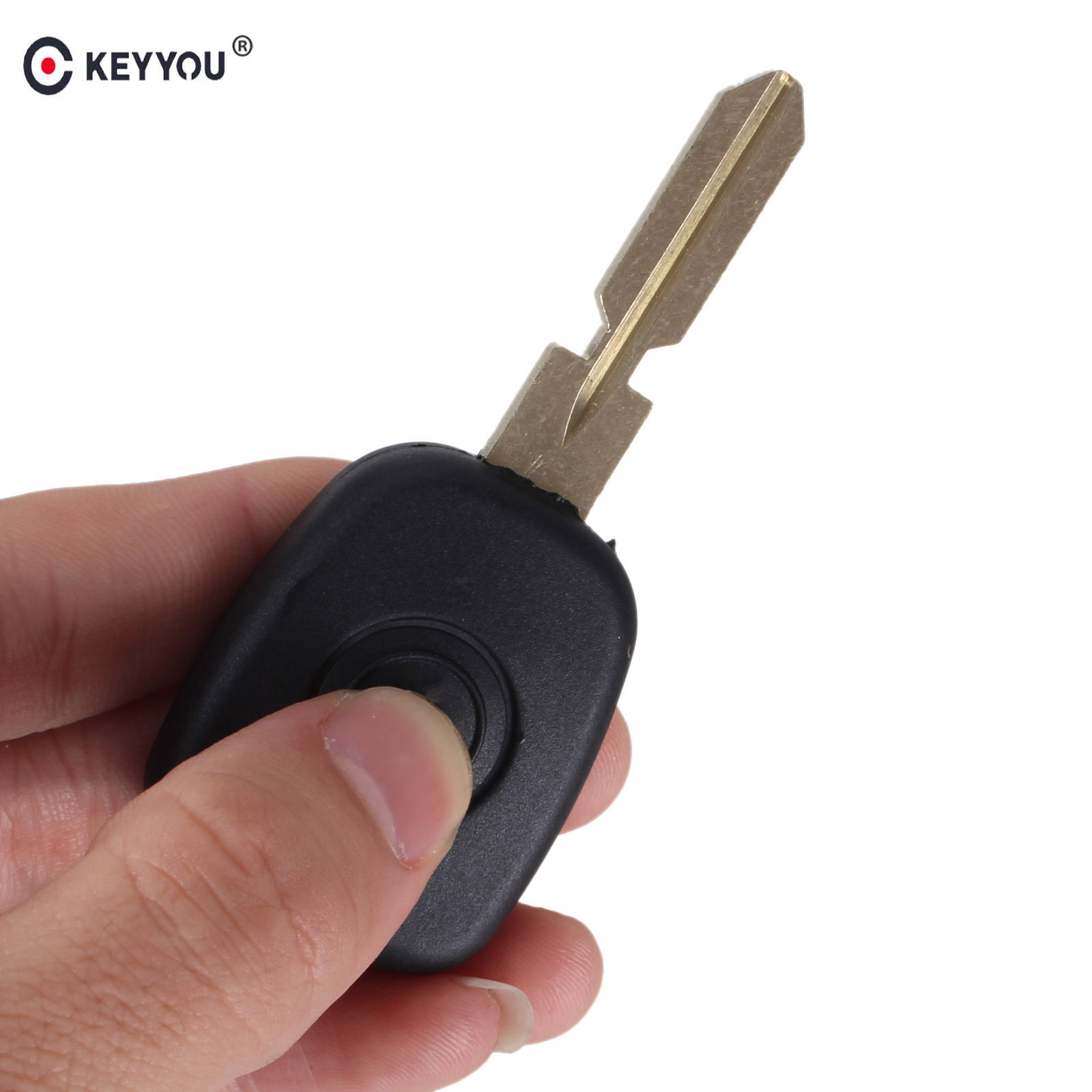 KEYYOU Car Key Cover Replacement Case Auto Transponder Key Shell With HU39 Key Blade For Mercedes Benz цены