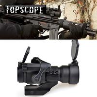 AIM Hunting Red Dot Sight M2 Red/Green Dot With L Shaped Mount For Airsoft Air guns Rifle Scope