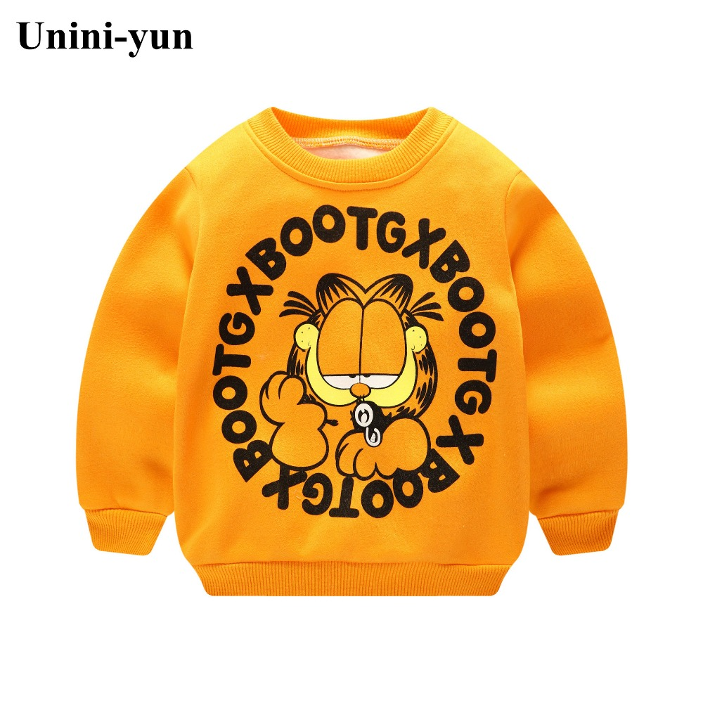 New Infantil Baby Boys Roupas Hoodies Lion Print Sweatshirt Children's Pullover Outerwear Autumn Spring Fashion Tops T-shirt